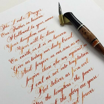 приличный почерк