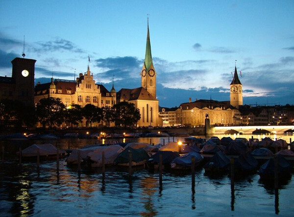 Путешествие в Цюрих, Швейцария