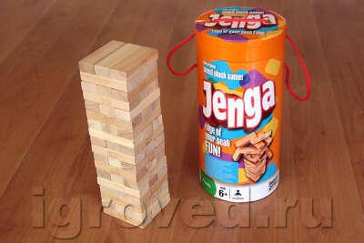 Играть в Jenga