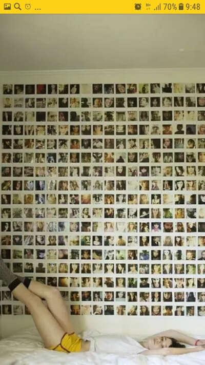 Личный кабинет весь в фотокарточках чб