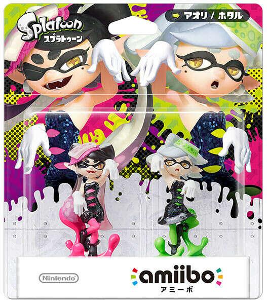 amiibo - Squid Sisters Set [Callie / Marie] (Splatoon Series)