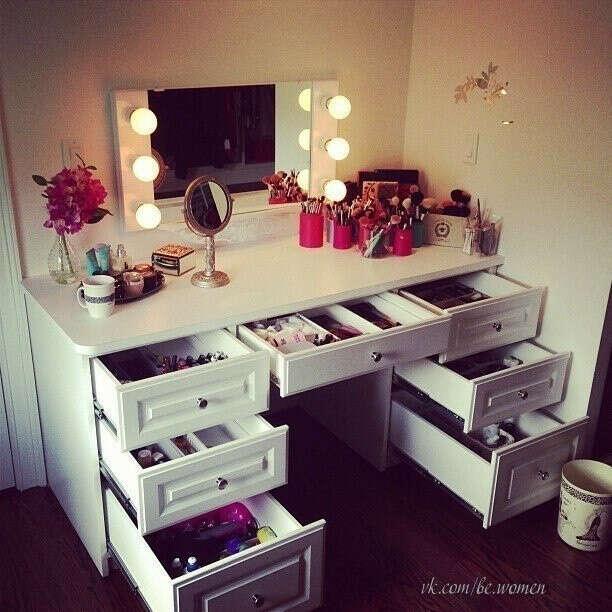Я хотела бы себе такой косметический столик