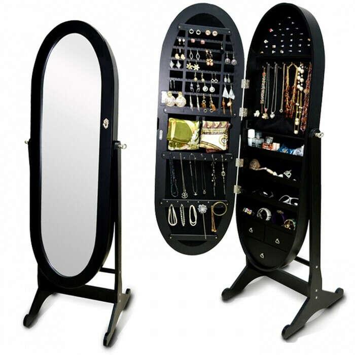 Зеркало с хранением аксессуаров