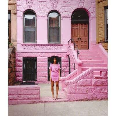 Розовый дом