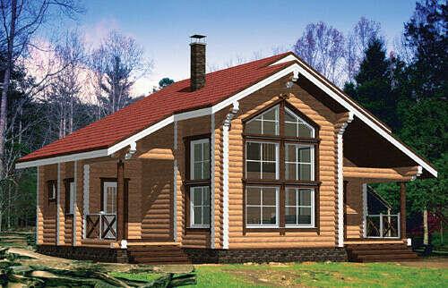 Свой  деревянный дом