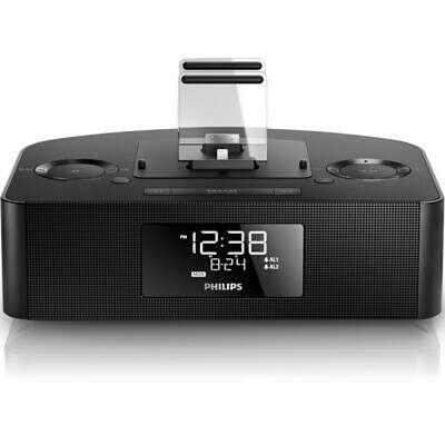 Philips Dual Dock Triple Charging Clock Radio
