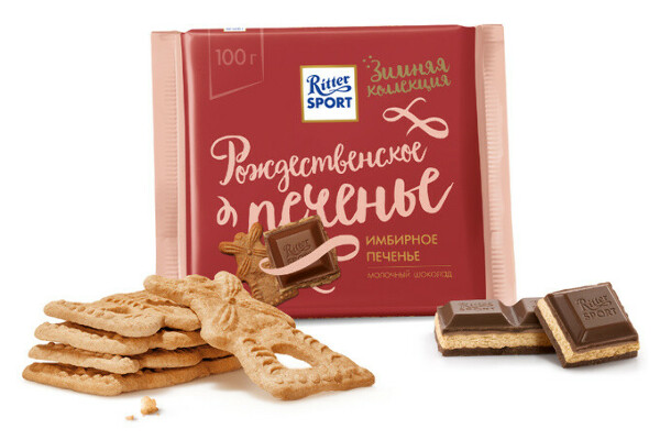 Ritter Sport Имбирное печенье