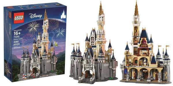 disney castle lego