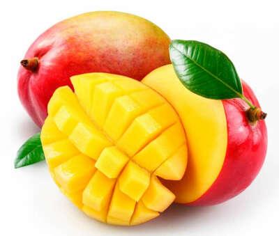 Съесть вкусный спелый манго