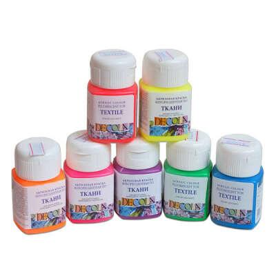 Краски Decola для ткани и керамики