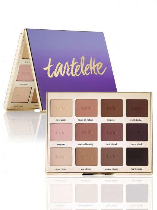 Палетка матовых теней от Tarte Cosmetics