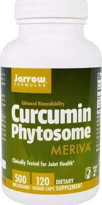 Jarrow Formulas, Куркумин 95, 500 мг