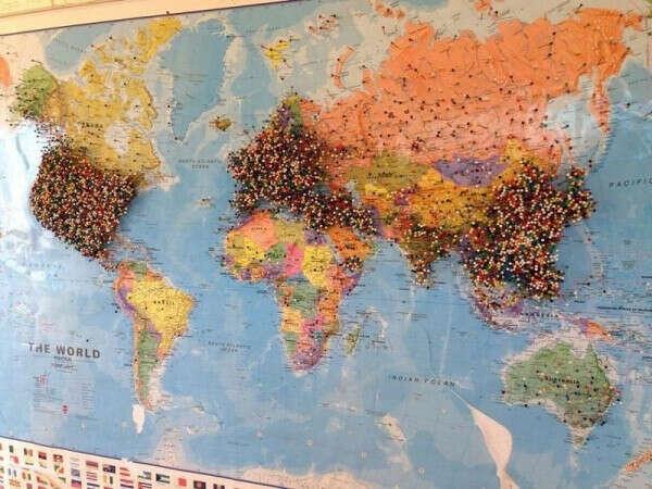 такую карту путешественника