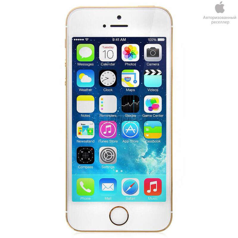 Смартфон Apple iPhone 5S 16Gb Gold ME434RU/A