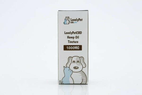 LovelyPetCBD Hemp Oil Tincture - 1000MG Per Bottle