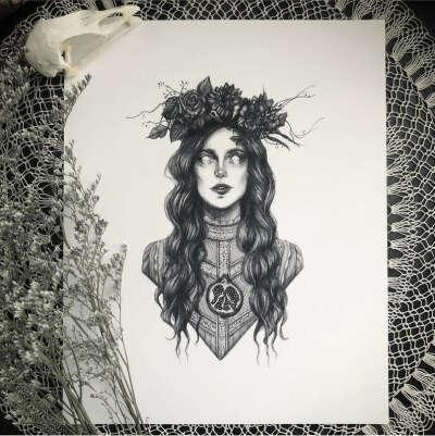 Persephone - 5x7 Art Print