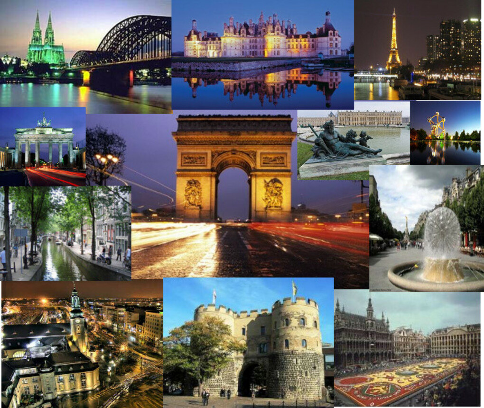 Побывать во всех столицах Европы
