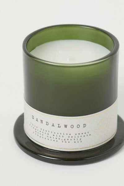 Ароматическая свеча Сандал H&M home