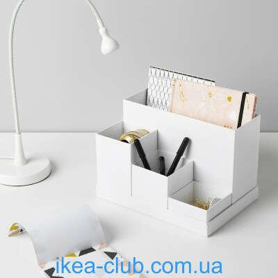 Коробки ikea для канцелярских принадлежностей