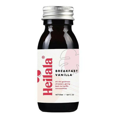 Heilala Vanilla Alcohol Free Breakfast Vanilla