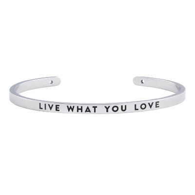 браслет LIVE WHAT YOU LOVE - BNGL