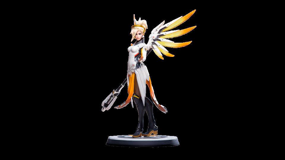 Overwatch Mercy Statue