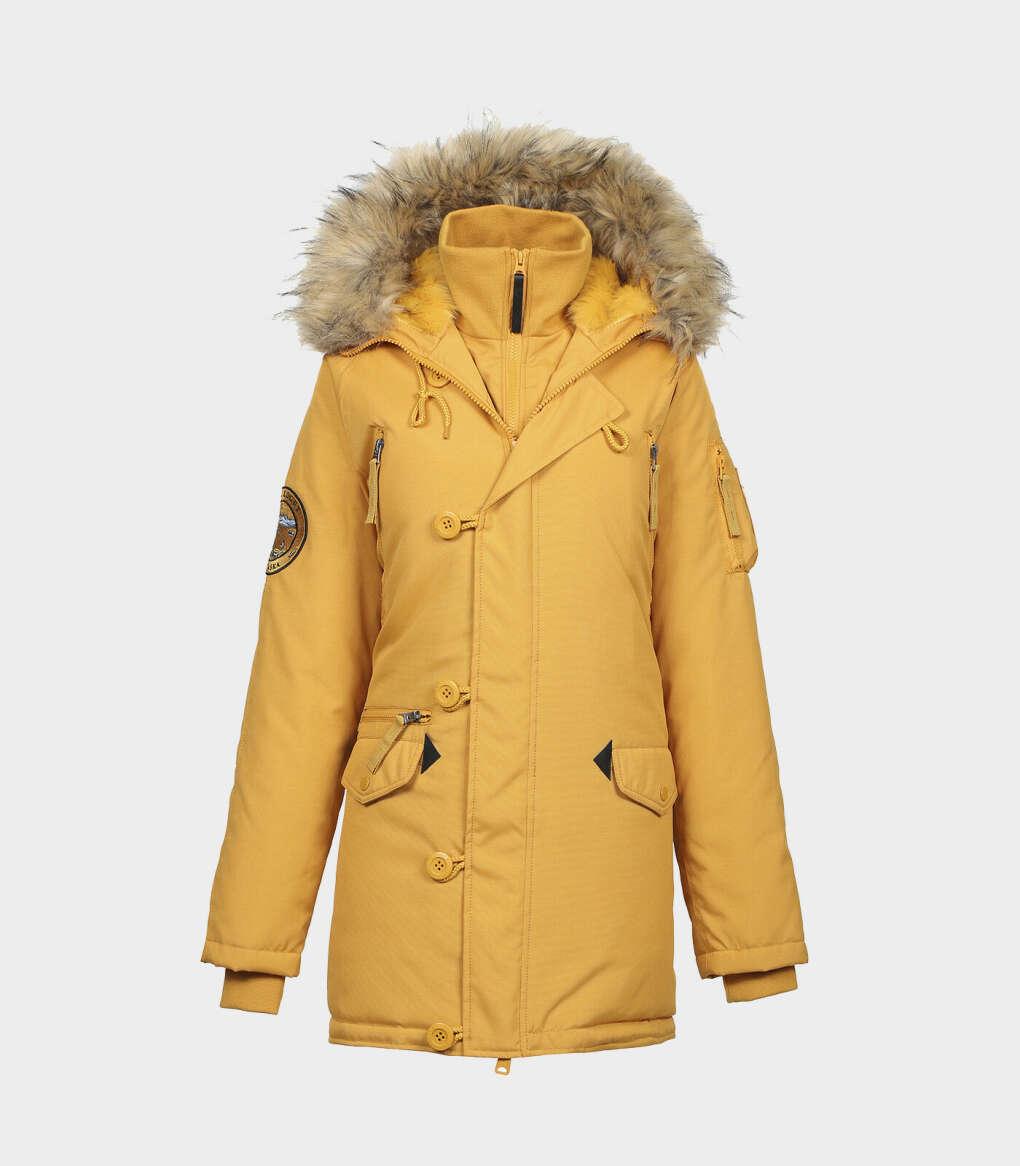 Куртку-аляску