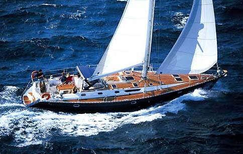 яхта на парусах - парусник