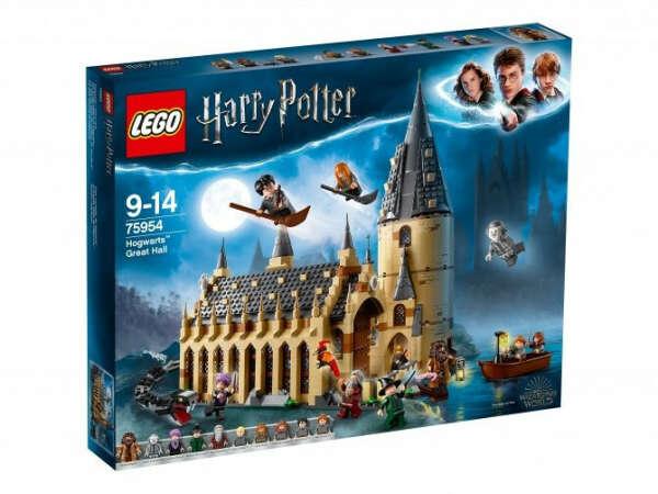 Конструктор Harry Potter - Большой зал Хогвартса