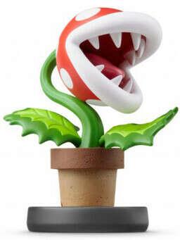 Super Smash Bros: Интерактивная фигурка amiibo – Растение-Пиранья