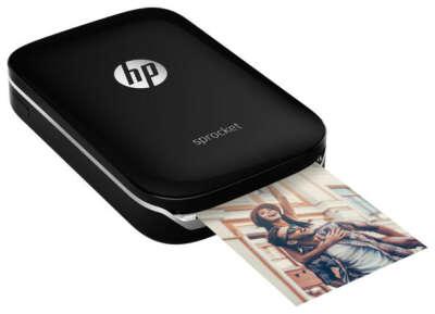 Принтер HP Sprocket Photo Printer — купить по выгодной цене на Яндекс.Маркете