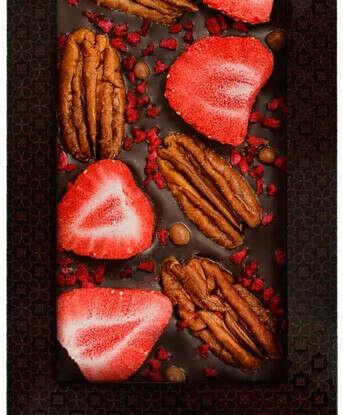 Натуральный шоколад без сахара или с кусочками вкусностей