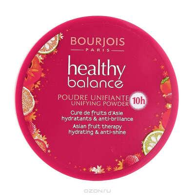 """Пудра Bourjois """"Healthy Balance"""", выравнивающая, тон №52, 9 г"""