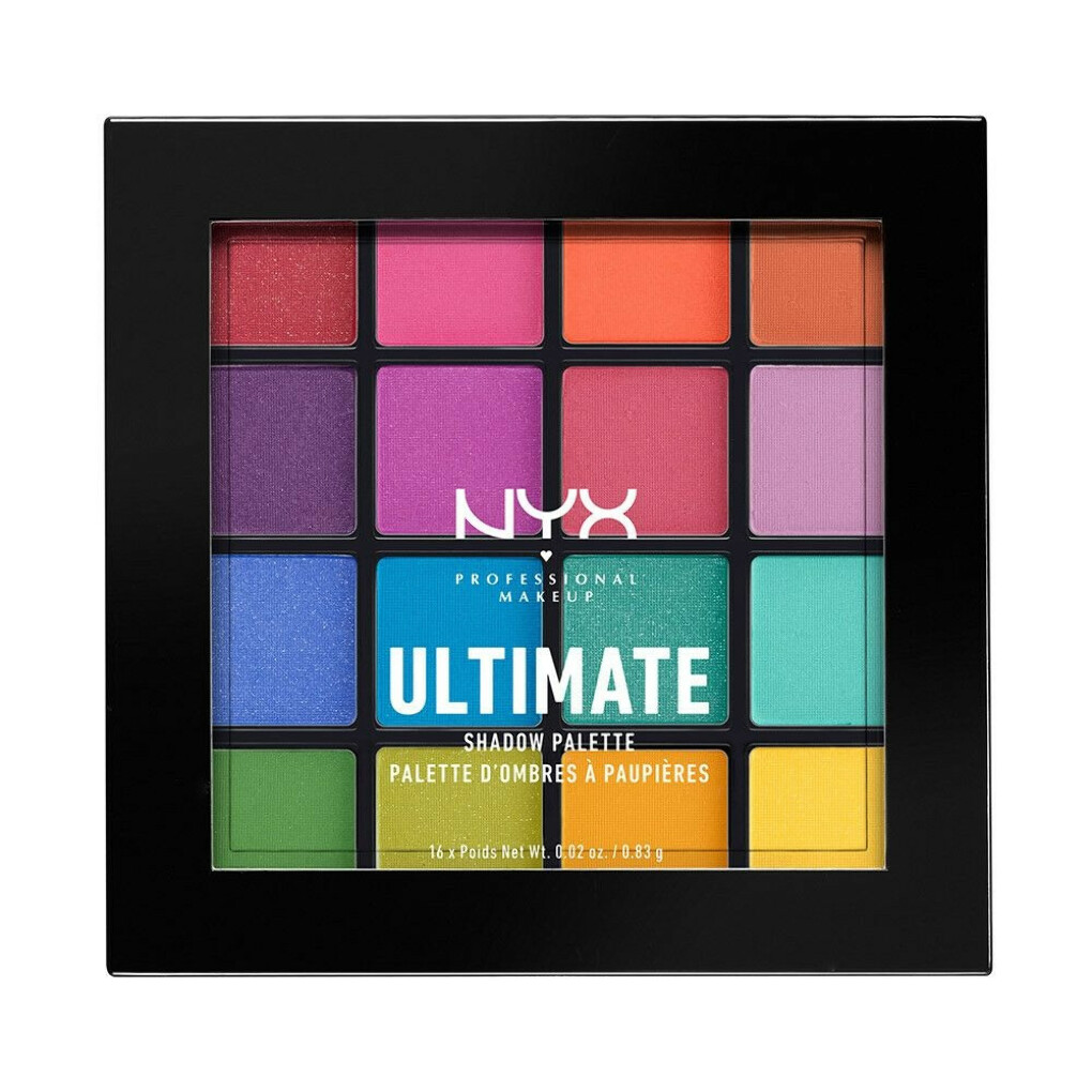 NYX ULTIMATE SHADOW PALETTE - BRIGHTS 04