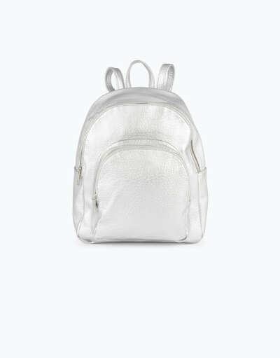 серебряный рюкзак