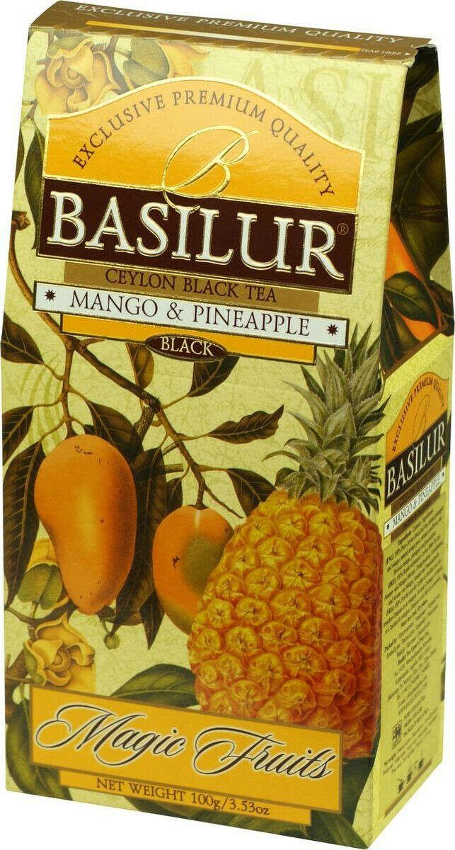 Basilur Mango and Pineapple черный листовой чай