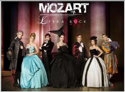 Билет на Mozart L'Opera Rock
