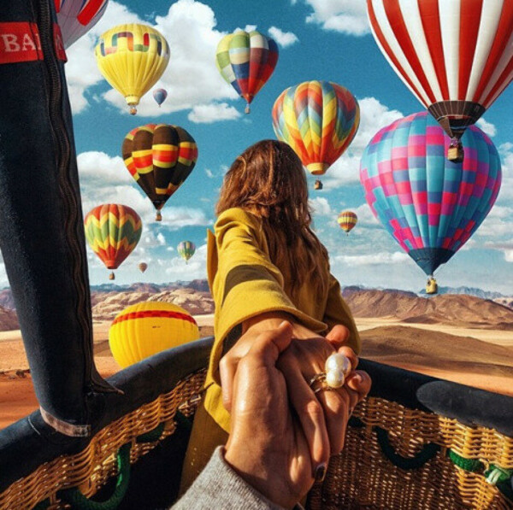 Полет на воздушном шаре (для двоих или с друзьями)