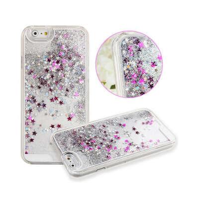 Чехол для телефона с жидкостью и блестками внутри iPhone 6s