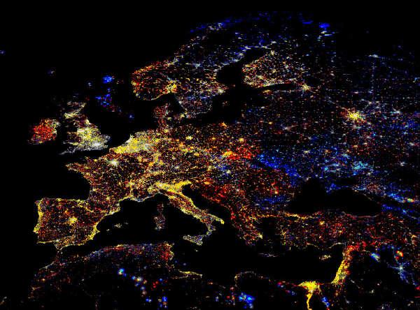 Посетить все страны Европы