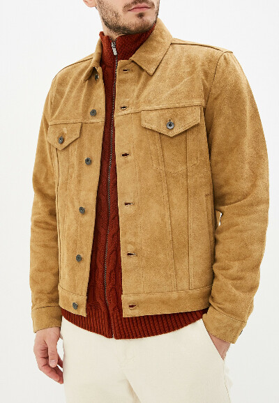 Куртка кожаная Gap