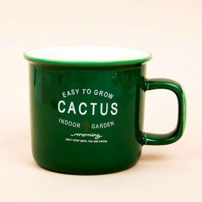 Кружка кактус