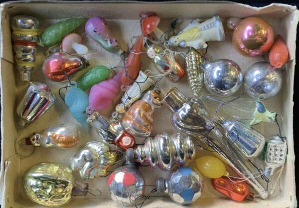 Елочные игрушки мини ссср