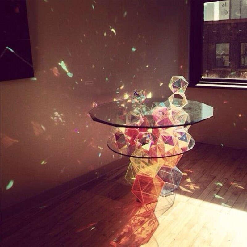 Кристальный столик ^^