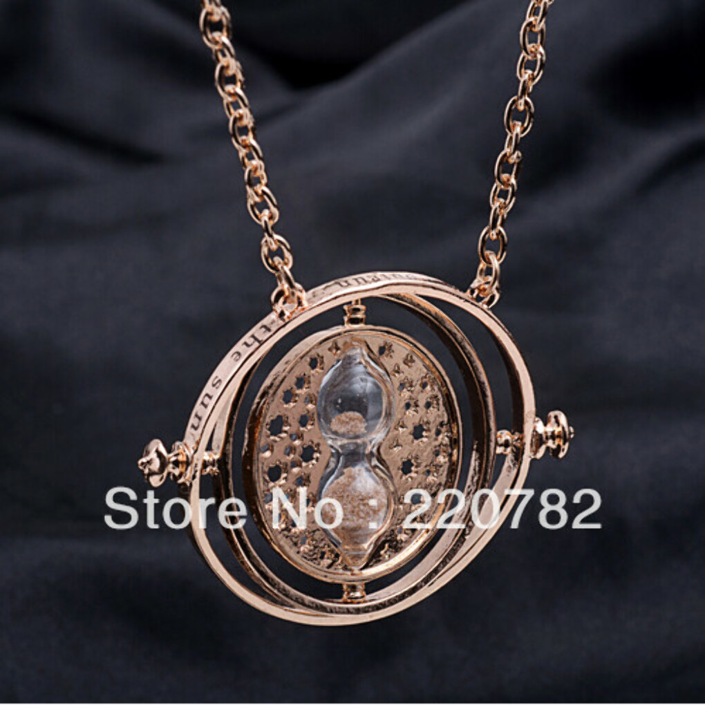 2013 Hot sale items 18k gold plated Harry Potter Time Turner rihanna statement pendant necklace accessories for woman-in Pendant Necklaces from Jewelry on Aliexpress.com