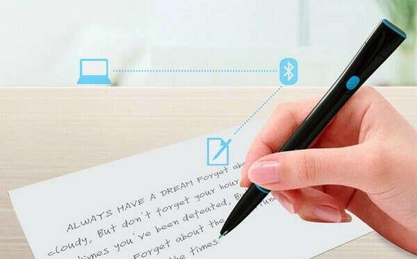 Recorder Pen: чудо-ручка, которая превращает рукописный текст в печатный — Novate.Ru