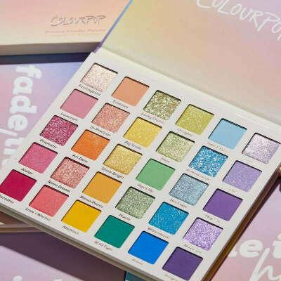 Палетка ColorPop fade into hue
