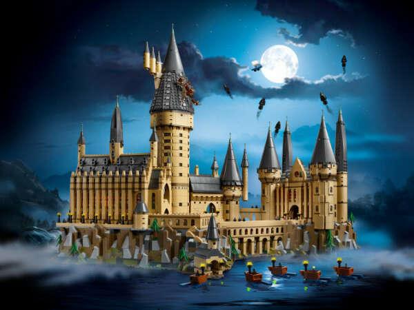 Лего с Гарри Поттером какое-нибудь не сильно большое >_<
