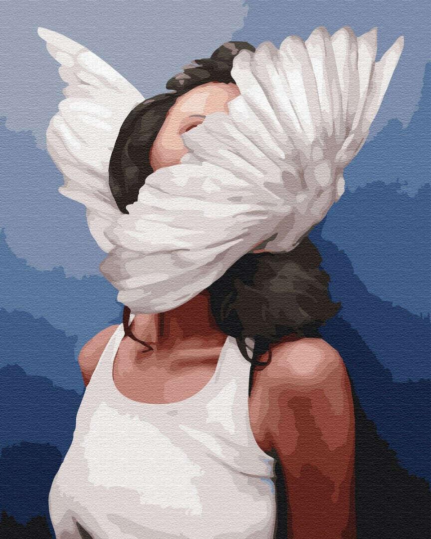 Картина по номерам «Душа рвется в полёт»