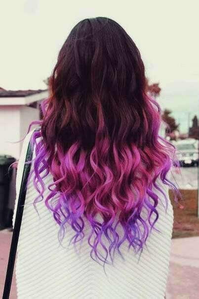 Покрасить волосы в необычный цвет